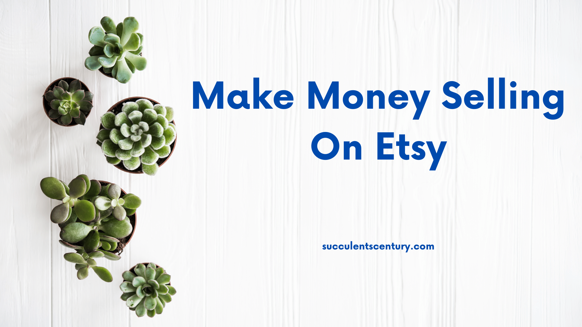 How to make money selling stuff on Etsy